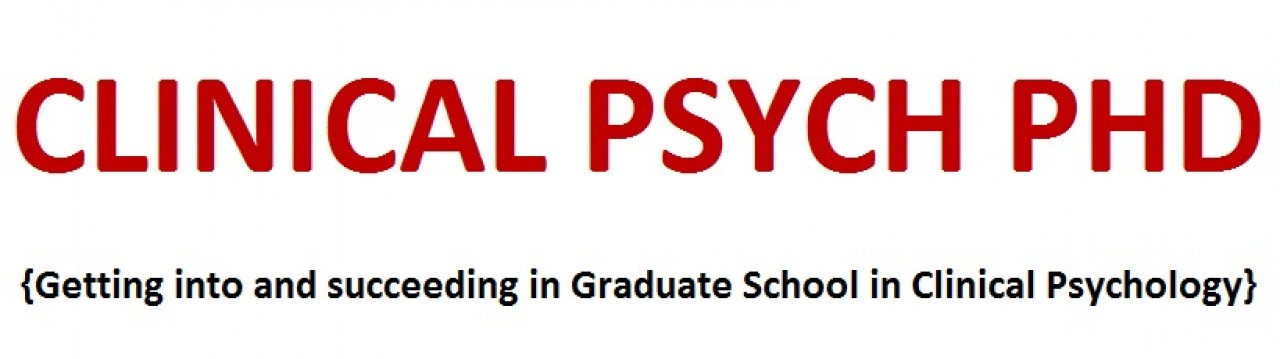 Graduate phd programs clinical psychology